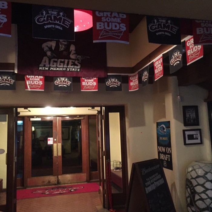 3. The Game Sports Bar and Grill, Las Cruces