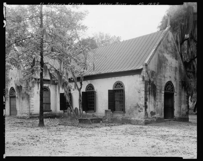 8. Old St Andrews Episcopal Church, Charleston. 1938