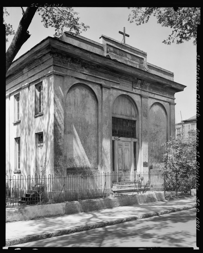 13. St. Stephens Church on Anson Street, Charleston. 1938.