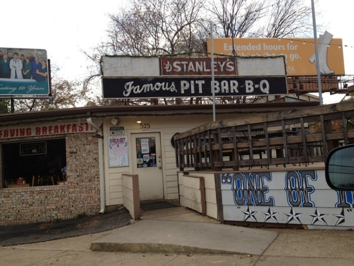 4. Stanley's Famous Pit BBQ (Tyler)