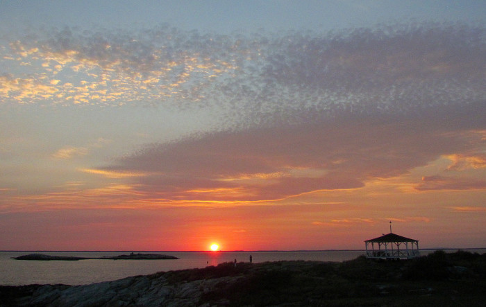 11. Sunset on Star Island