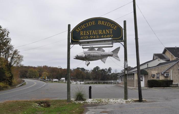 12) Suicide Bridge Restaurant, Hurlock