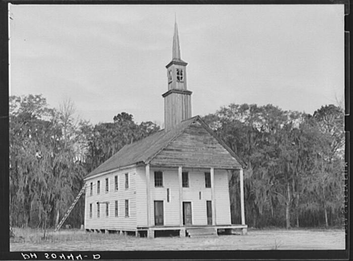 2. Church near Summerville, SC. 1938.