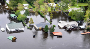 These 18 Photos of South Carolina's 1,000 Year Flood Are Mind-Blowing