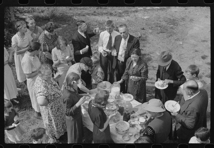 5. Sunday school picnics