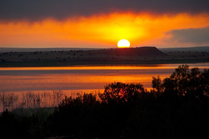 2. Santa Rosa Lake, Santa Rosa