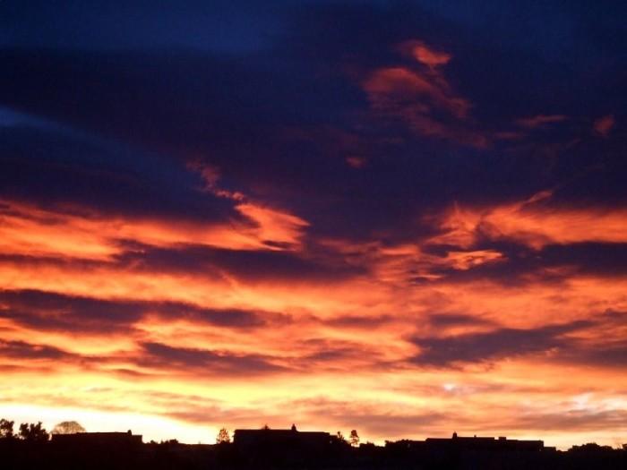 9. Sunrise in Santa Fe