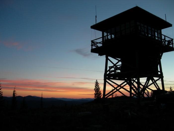 3. Surveyors Ridge Lookout, Shoshone County