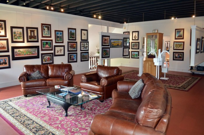 1.  The Art of Humor Gallery - Not A Road, Wilmington