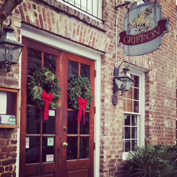 8. At The Griffon Pub - Charleston, SC