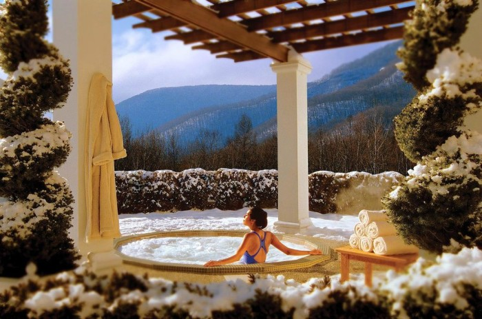 2.  Enjoy a day at the spa!