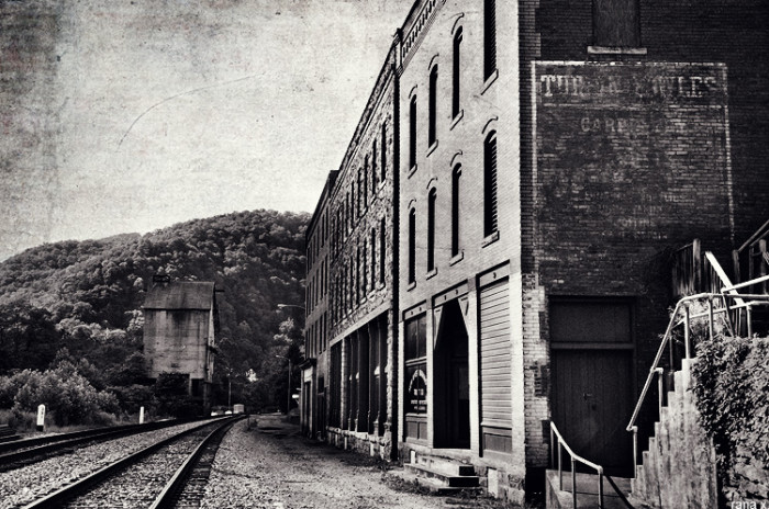 4. We have spooky ghost towns.