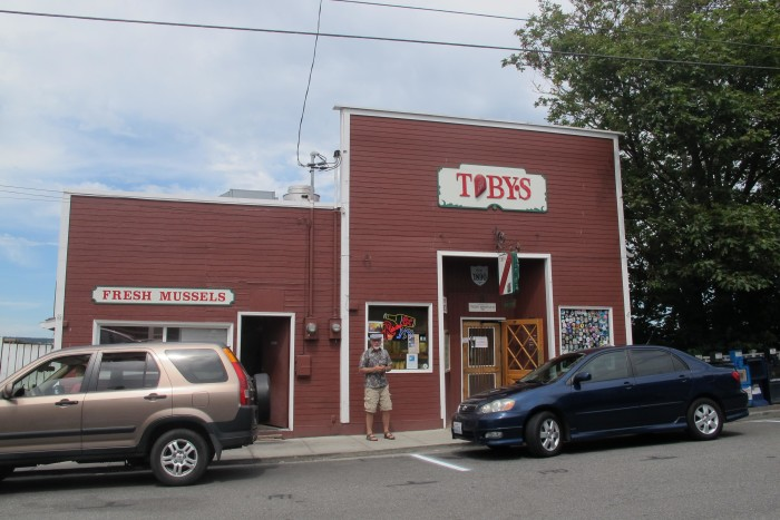 5. Toby's Tavern in Coupeville might look like your average pub from out front...