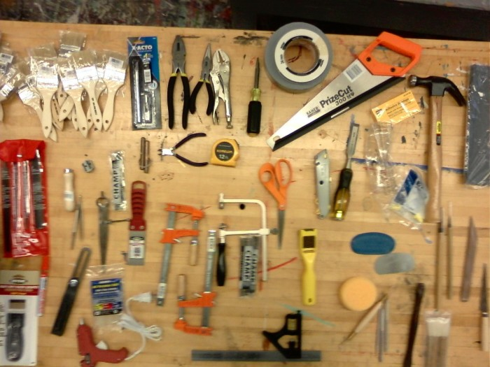 10. At least one tool kit