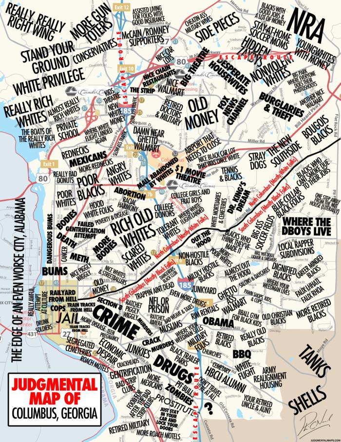 6 Funny Maps Of Georgia