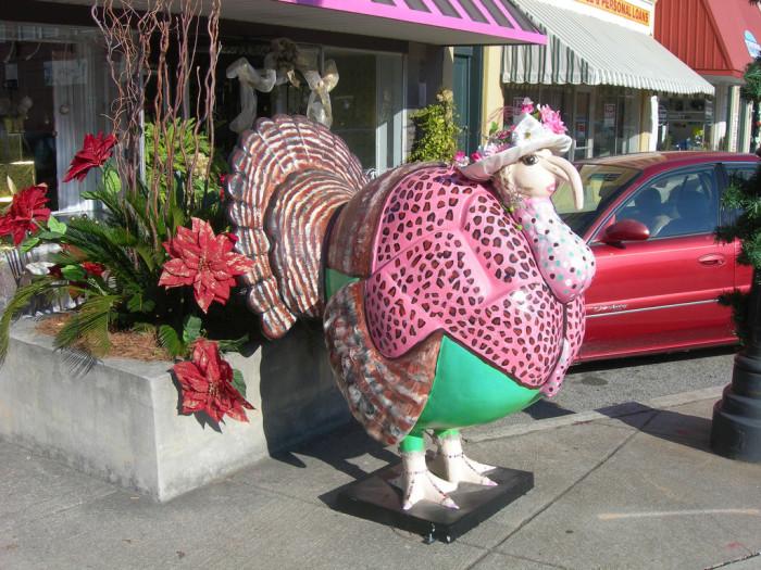 2. Giant inedible turkeys - Edgefield, SC