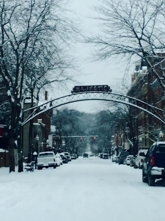 17. Winter at the Majestic Theatre in Chillicothe
