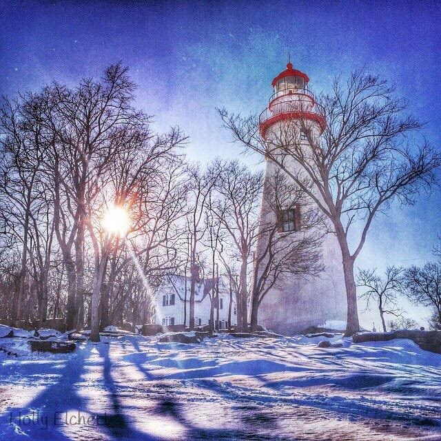 5. Winter at Marblehead Lighthouse