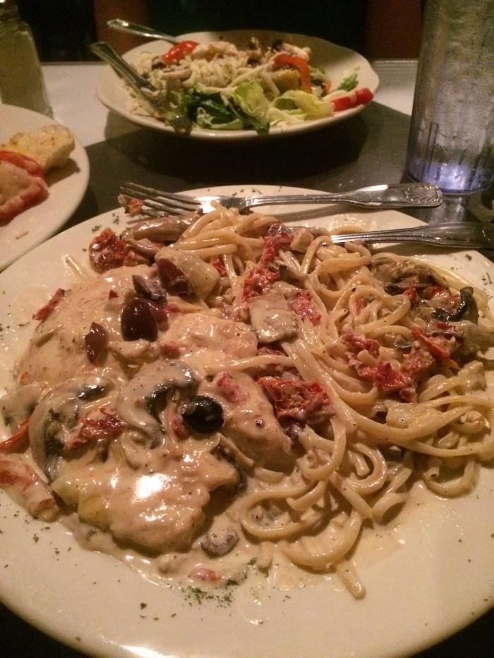 13. Verona Italian Restorante Alexandria, LA