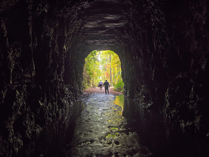9. This tunnel is in the Upstate near Wahalla. Do you know the name?
