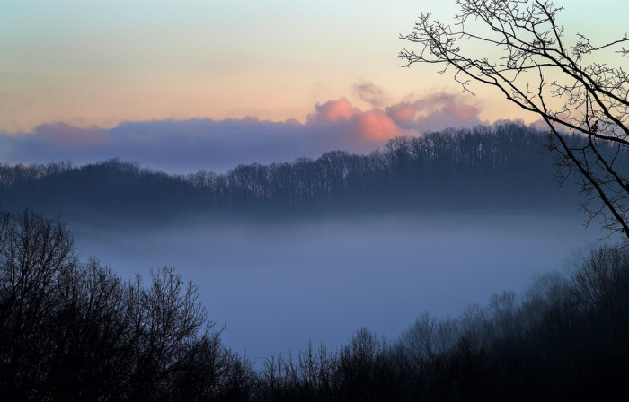 1. This was taken one winter morning in Wayne County.