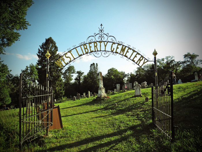 5. This is West Liberty Cemetery in Wheeling.