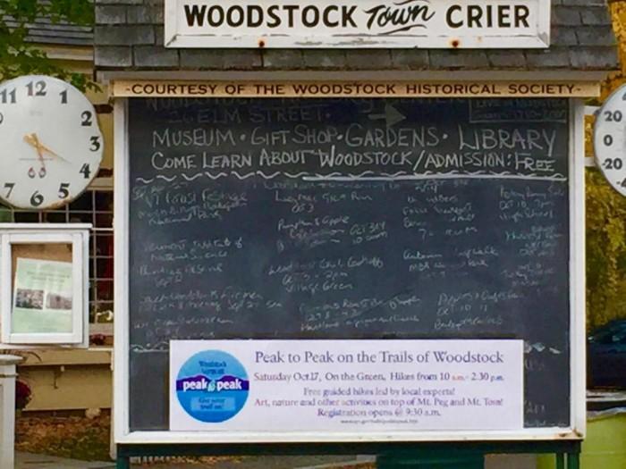14.  Take a stroll around Woodstock.