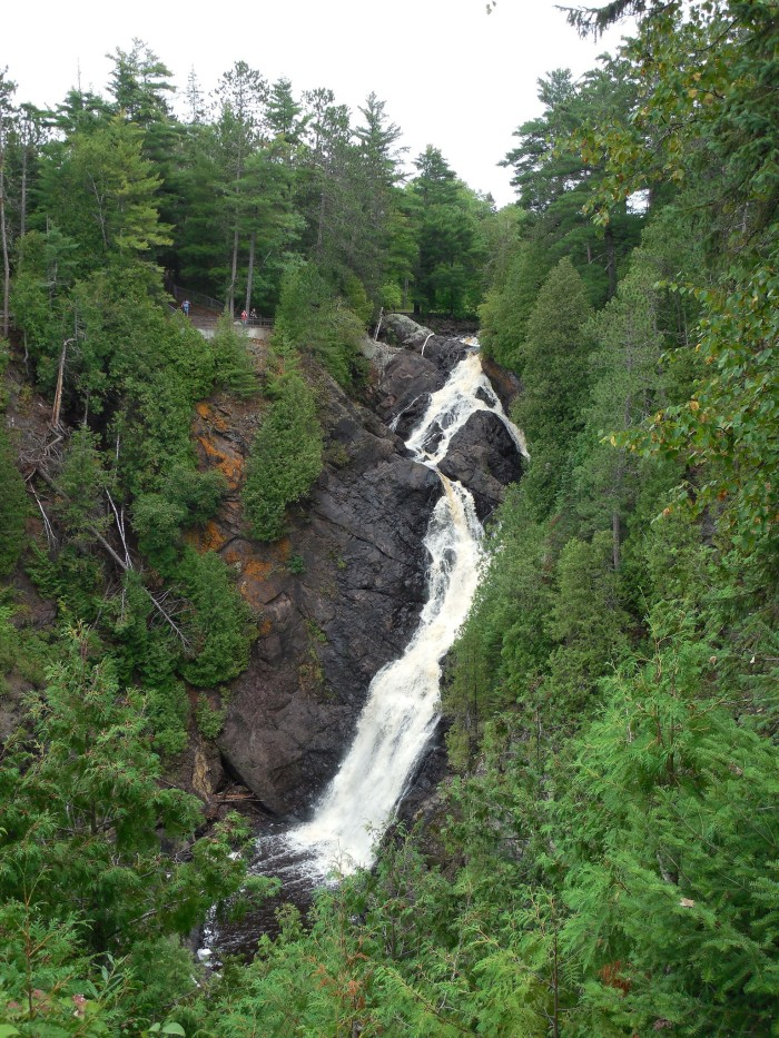 1. Big Manitou Falls is located on the Black River.