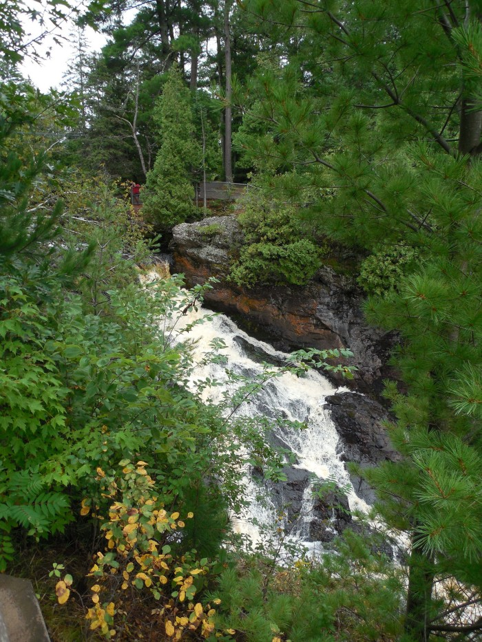 3. Pattison State Park, which houses Big Manitou Falls, is just outside of Superior, Wisconsin.
