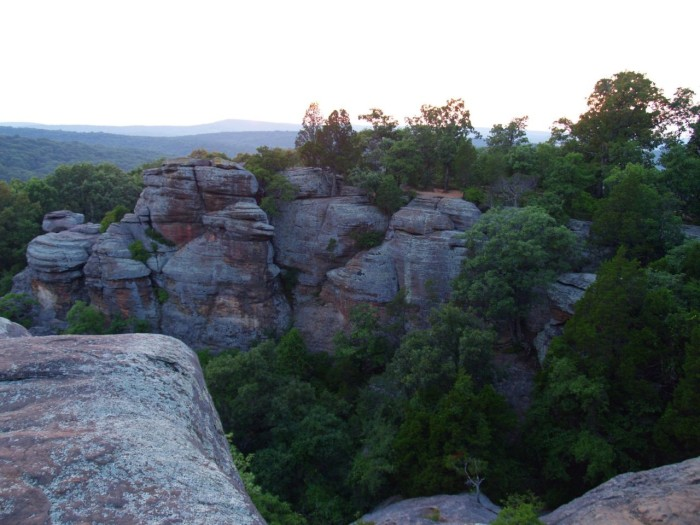 5. These giant rocks are 300 feet tall.