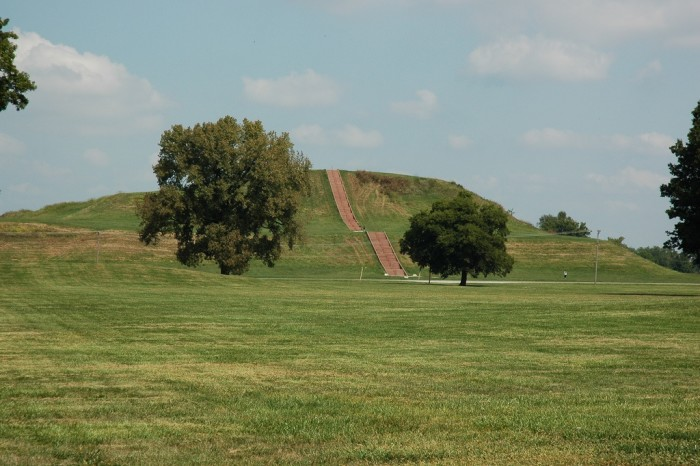 6. Monks Mound is the largest man-made earthen mound on the North American continent.