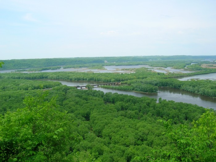 6. Could it be any greener at Wyalusing State Park?