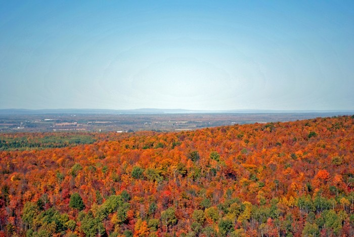9. What an awe-inspiring view from St. Peter's Dome State Natural Area.