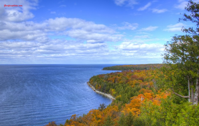 14. Nowhere does autumn look better than at Peninsula State Park.