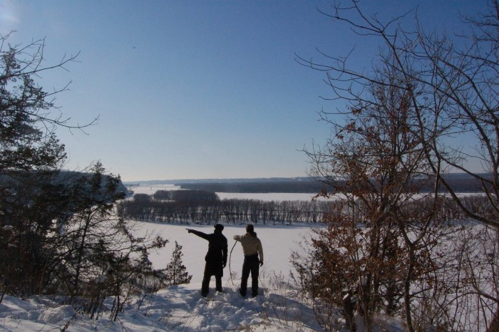 6. The park even looks gorgeous in the winter.