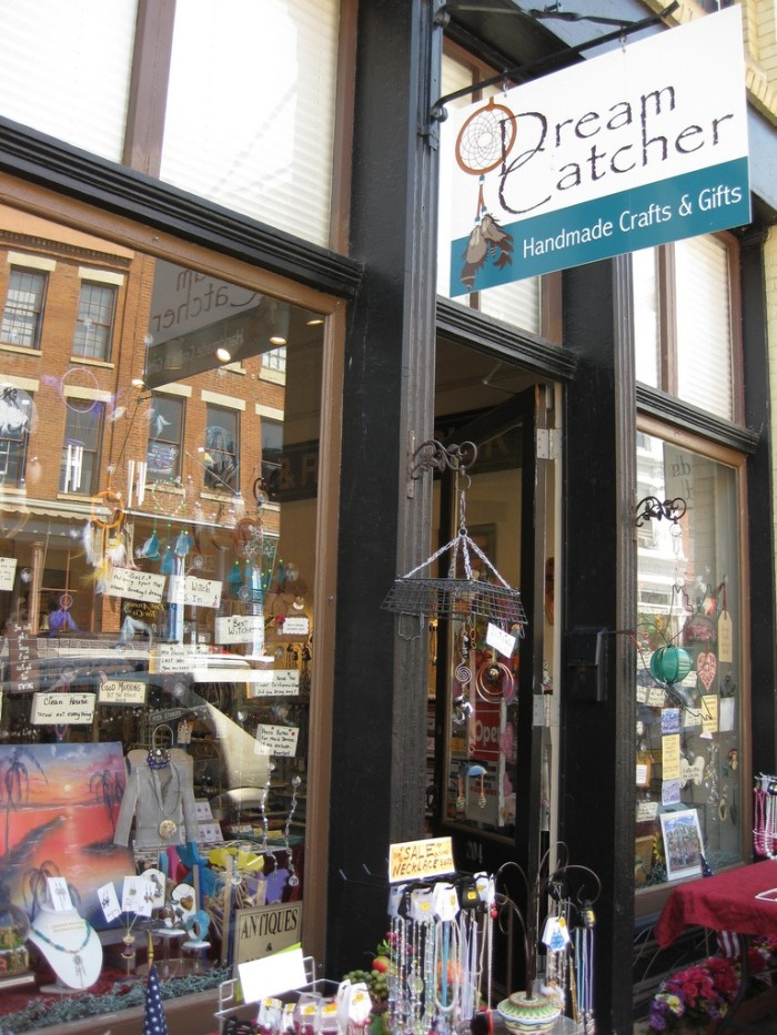 4. The downtown area is full of quirky shops with all sorts of interesting wares.