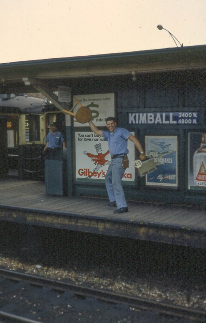6. Yes, there were some interesting characters hanging around the L even back then.
