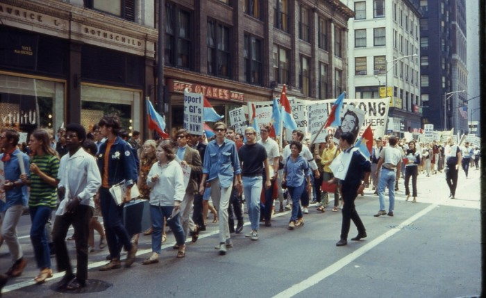 7. It was the 1960s, so anti-war demonstrations were a huge part of the decade.