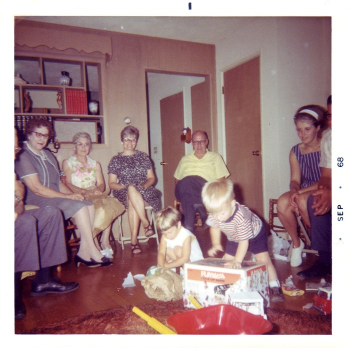 12. Family gatherings looked pretty similar. Although they were probably serving some Jell-o dish.