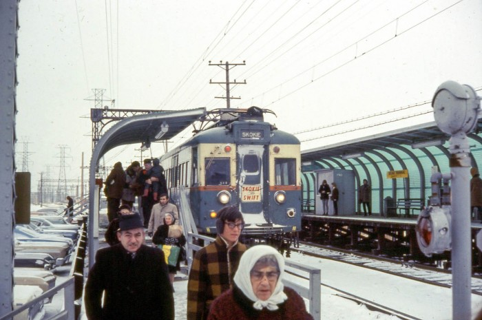 13. And in the 1960s, it was still super cold, and people stayed bundled up.