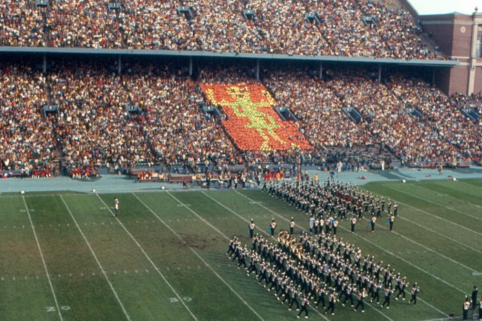 2. This was the University of Illinois football halftime show in 1970.