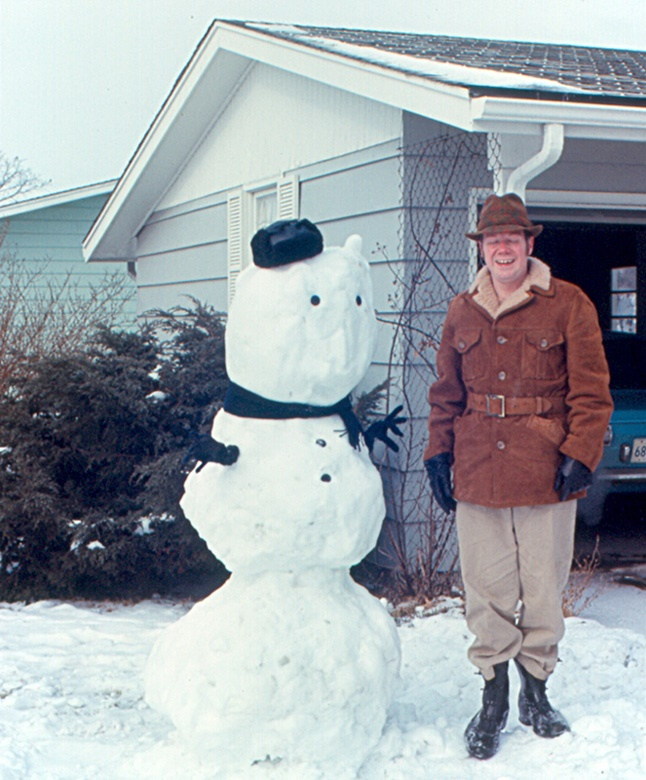 3. Snowmen looked as odd as they do now.