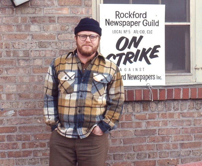 4. The Rockford Morning Star journalists went on strike in 1970.