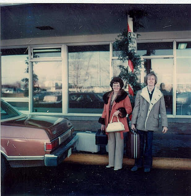 10. Check out that luggage from 1976.