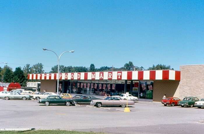 13. Here is a shot of the old Ben Schwartz Food Mart.
