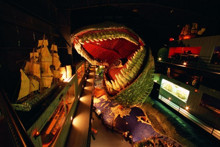 "6. The ""Heritage of the Sea"" features all sorts of nautical exhibits and this 200 foot creature."