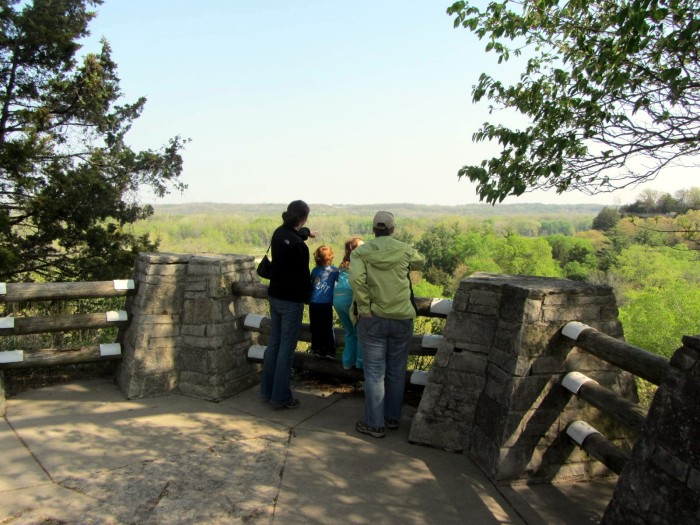 2. There are plenty of vantage points to take this wonderful park in.