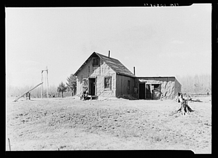 2. This was the home of Max Sparks and family near Long Lake, Wisconsin in 1937.