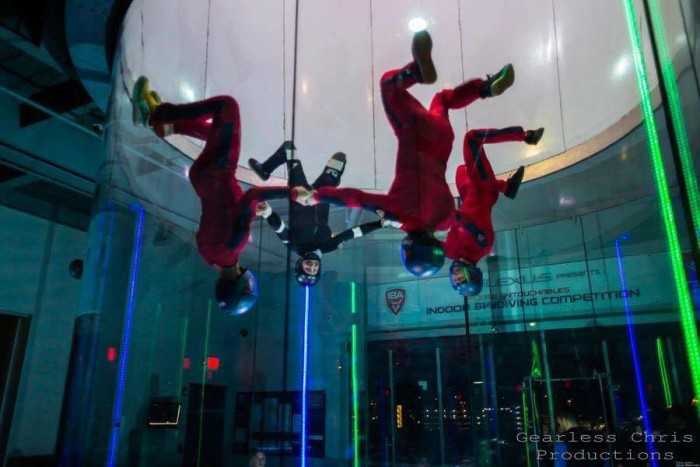 1. Indoor Skydiving