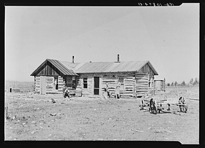 3. This was a home near Tipler, Wisconsin in 1937.